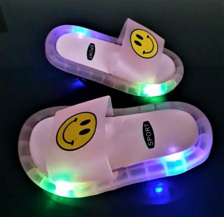 """Papuci copii cu luminite""""iShopShoes"""" COD: PNK-51"""