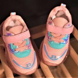 Pantofi copii cu luminite BA-PINK-1