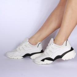 Pantofi sport dama 00557-WHITE