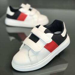 Pantofi copii 503-10-BLACK-RED