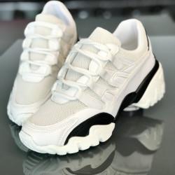 "Pantofi sport dama ""iShopShoes"" COD: 00557-WHITE"
