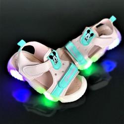 "Sandale copii cu luminite ""iShopShoes"" COD: YY-1BLU"