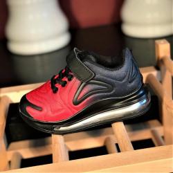 Pantofi sport copii G01-7 BLACK-RED