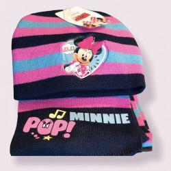 Set căciula si fular fete Minnie Mouse 1-3 ani - MNN-CS2