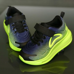 Pantofi copii perna aer GRN-BLUW