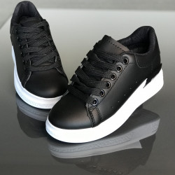 "Pantofi sport copii ""iShopShoes"" COD: 503-10-BLACK"