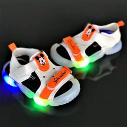 "Sandale copii cu luminite ""iShopShoes"" COD: YY-2ORG"