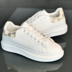 Pantofi dama 55-WH-BEIGE