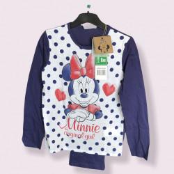 Pijama pentru fete Minnie Mouse, vârsta 8 ani, MNN-PJB1