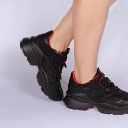 "Pantofi sport dama ""iShopShoes"" COD: 00420-BLACK"