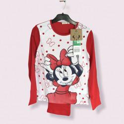 Pijama doua piese Minnie Mouse, vârsta 8 ani, MNN-PJR1