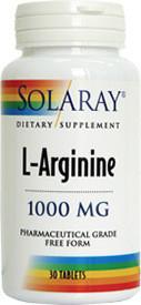 L-ARGININE 1000mg 30tb SECOM