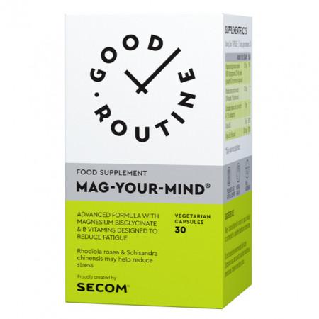 MAG YOUR MIND 30CPS SECOM GOOD ROUTINE - MANEZIU, STRES, OBOSEALA