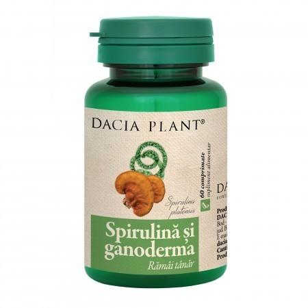 SPIRULINA SI GANODERMA 60CPR DACIA PLANT