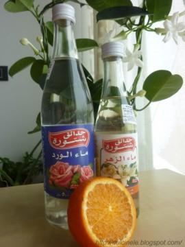 Apa de flori (trandafiri sau portocale) 250 ml Liban