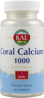 CORAL CALCIUM 1000mg 60tb SECOM