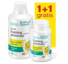 EVENING PRIMROSE+VITAMINA E 90cps + 30CPS GRATIS ROTTA NATURA