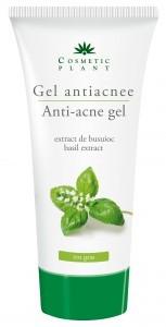 Gel antiacnee cu extract de busuioc (100 ml) COSMETICPLANT