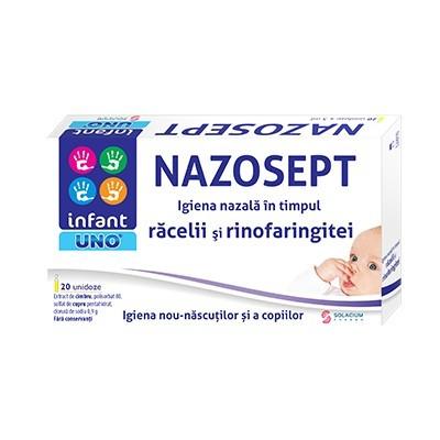 Poze INFANT UNO NAZOSEPT 20DZX5ML SOLACIUM PHARMA