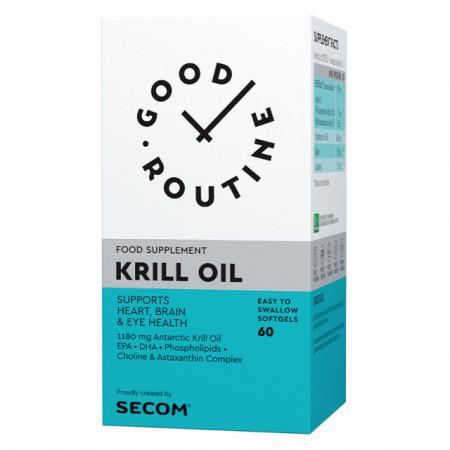 KRILL OIL 60CPS SECOM GOOD ROUTINE - COLESTEROL, ARTICULATII