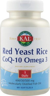 RED YEAST RICE COQ-10 OMEGA3 60CPS SECOM