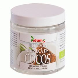 ULEI DE COCOS VIRGIN ECOLOGIC 250ML ADAMS VISION