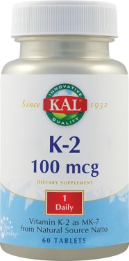 K-2 100MCG 30CPR SECOM