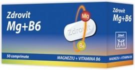 MAGNEZIU+VIT B6 50CPR ZDROVIT