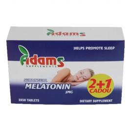 MELATONINA 3mg 50tb(2+1gratis) ADAMS VISION PROMOTIE!!!