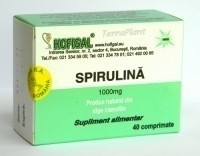 SPIRULINA FORTE 500mg 40cps HOFIGAL