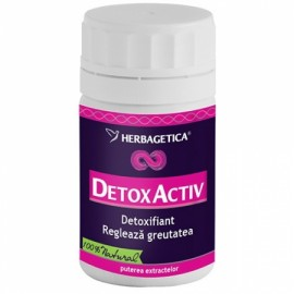 DETOX ACTIV 60cps HERBAGETICA