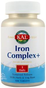 IRON COMPLEX+ 100 tablete Secom