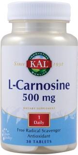 L-CARNOSINE 500mg 30tb SECOM