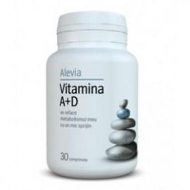 VITAMINA A+D 30CPR ALEVIA