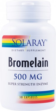 BROMELAIN 500MG 30CPS SECOM