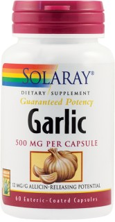 GARLIC (USTUROI) 500mg 60 capsule vegetale protejate enteric SECOM
