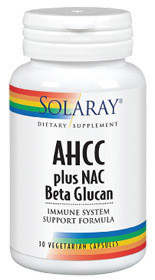 AHCC plus NAC & BETA GLUCAN 30cps SECOM