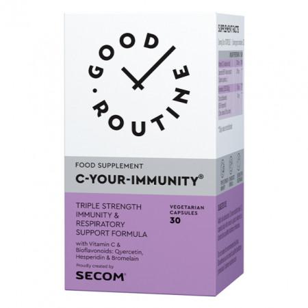 C YOUR IMMUNITY 30CPS SECOM GOOD ROUTINE - IMUNITATE, ANTIOXIDANT/Quercetin