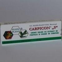 """CARPICON """"S""""SUPOZITOARE 10 x1.5 g ELZIN PLANT"""