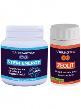 ENERGY STEM 250ML+ZEOLIT 60CPS GRATIS HERBAGETICA
