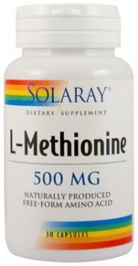 L-METHIONINE 500mg 30 capsule Secom