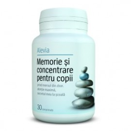 MEMORIE&CONCENTRARE-COPII 30CPR  ALEVIA