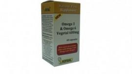 OMEGA-3 SI OMEGA-6 VEGETAL 600mg 60cps(moi) HOFIGAL