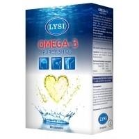 OMEGA-3 ULEI PUR DE PESTE 80CPS LYSI