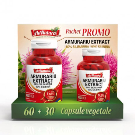ARMURARIU EXTRACT 60CPS+30CPS PROMO ADSERV