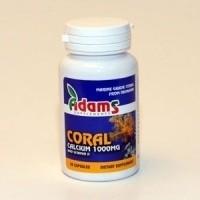 CORAL CALCIU OKINAWA 1000mg 30cps ADAMS VISION