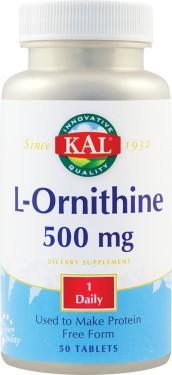 L-ORNITHINE 500mg 50 tablete ActivTab SECOM