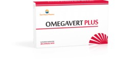 OMEGAVERT PLUS 30CPS SUN WAVE PHARMA