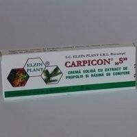 """CARPICON """"S""""SUPOZITOARE 10 x1g ELZIN PLANT"""