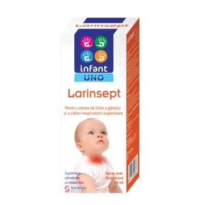 Poze INFANT UNO LARINSEPT SPRAY FARA ALCOOL 30ML SOLACIUM PHARMA